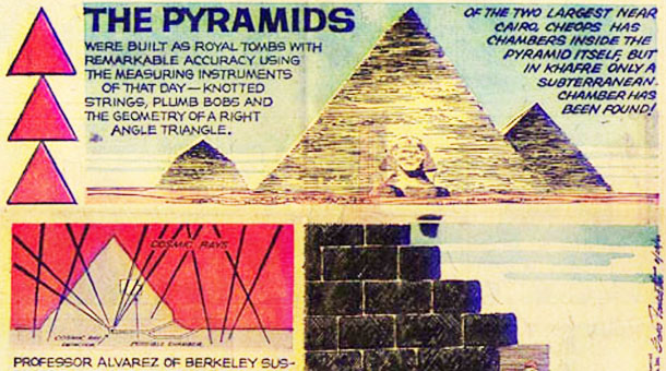 The Science Behind Finding Open Spaces in Pyramids using Cosmic Rays